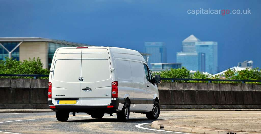 Courier Van London to Europe