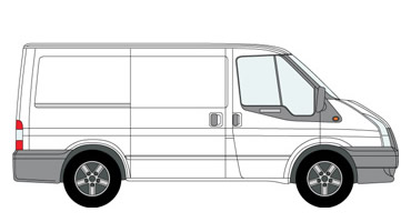 Short Wheel base Van and Man Hire