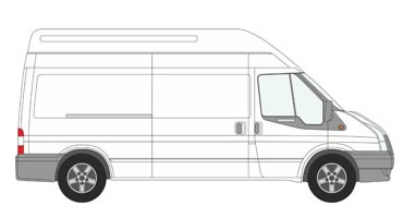 Long Wheel Base Transit Van and Man Hire London