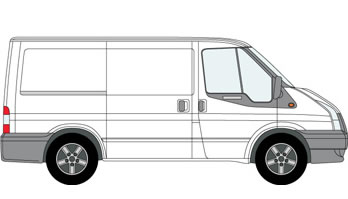 Short Wheel base Van and Man Hire London
